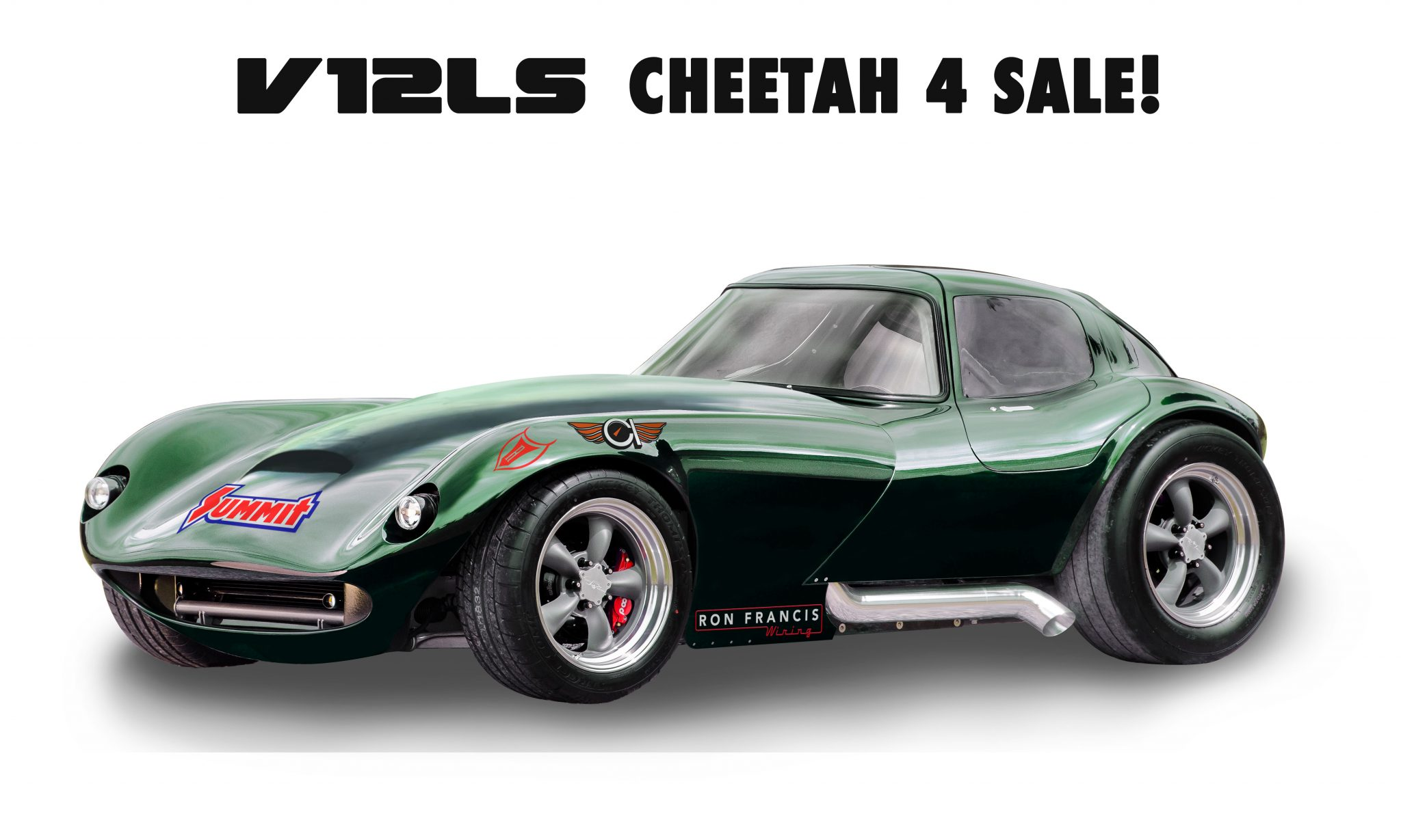 V12 Cheetah For Sale Race Cast Engineering Ron Francis Wiring Car